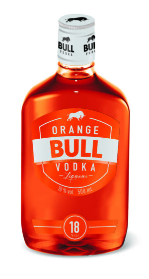 Orange Bull Vodka Liquer 18% Vol. 50 cl PET
