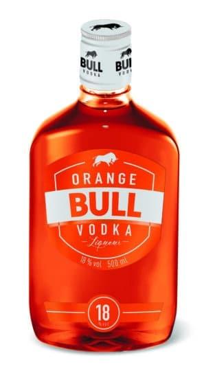 Orange Bull Vodka Liquer 18% Vol. 50 cl PET