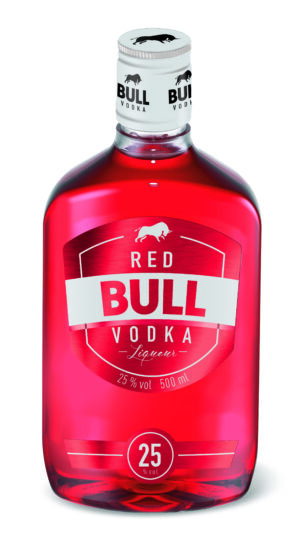 Red Bull Vodka Liqueur 25% Vol. 50 cl PET