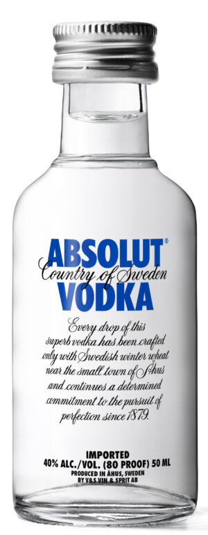 Absolut Vodka 40% Vol. 12 x 5 cl Portion