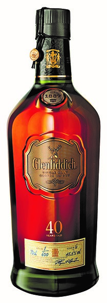 Glenfiddich 40 Years old 46,4% Vol. 70 cl