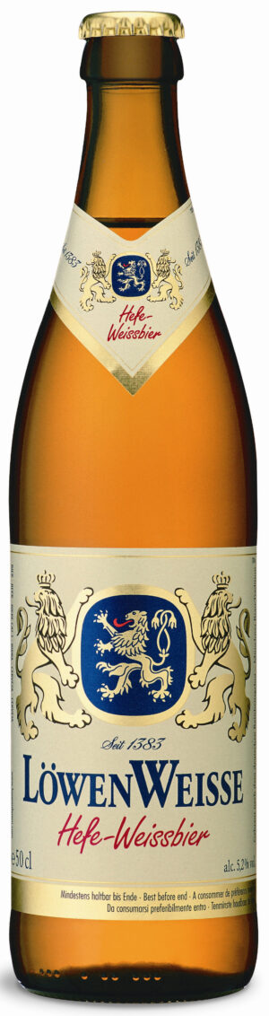 Löwenbräu München Hefe Weissbier 5,2% Vol. 6 x 50 cl MW Flasche