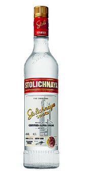 Vodka Stolichnaya 40% Vol. 70 cl Lettlands