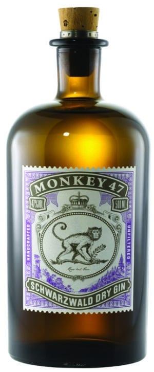 Gin Monkey 47 Schwarzwald Dry Gin 47% Vol. 50 cl