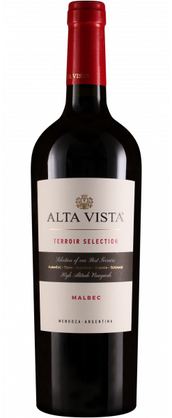 Alta Vista Terroir Selection Malbec 14.5% Vol. 75cl 2017