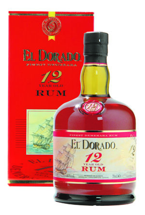 Rum El Dorado 12 years 40% Vol. 70 cl British Guyana