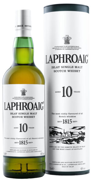 Laphroaig 10 Years Single Islay Malt 40% Vol. 70 cl