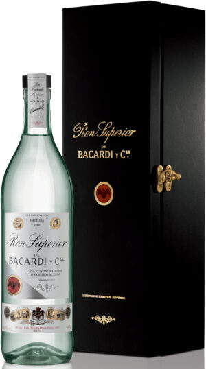 Rum Bacardi Superior LIMITED EDITION 1909 44,5% Vol. 70 cl in Geschenkbox Bahamas