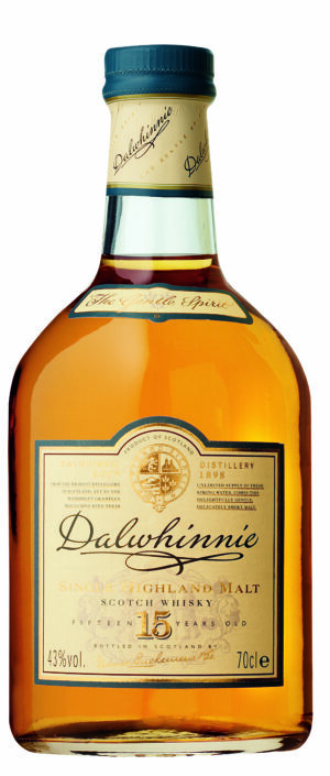 Whisky Dalwhinnie Malt Highland-Northern 15 years 43% Vol. 70 cl