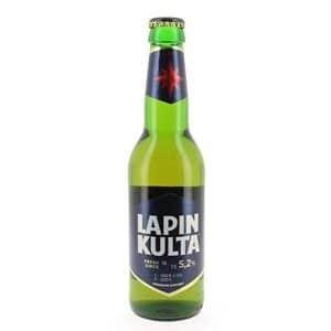 Lapin Kulta Premium Beer 5,2% Vol. 33 cl EW Flaschen Finnland