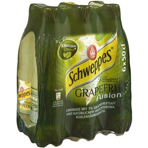 Schweppes Grapefruit Fusion 6 x 50cl Pet