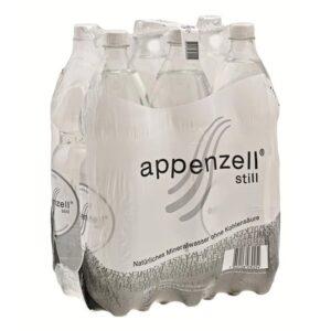 Appenzell Mineral still ohne Kohlensäure 6 x 150 cl Pet