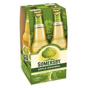 Somersby Apple Cider 4,5% Vol. 24 x 33cl EW Flasche