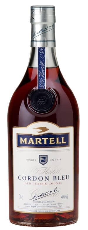 Cognac Martell Cordon bleu 40% Vol. 70 cl