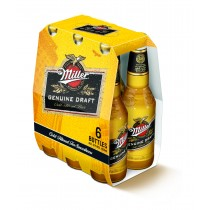 Miller Draft Bier 4,7% Vol. 6 x 33cl EW Flasche USA