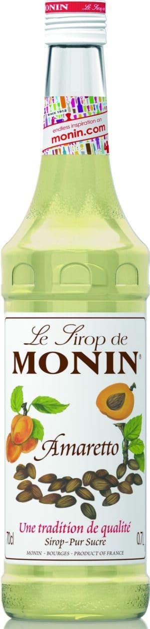 Amaretto Monin Premium Sirup alkoholfrei 70 cl
