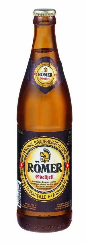 Römer Bier Edelhell Ramseier 4,8% Vol. 6 x 50 cl MW Flasche