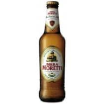 Birra Moretti Lager 4,6% Vol. 24 x 33 cl EW Flasche