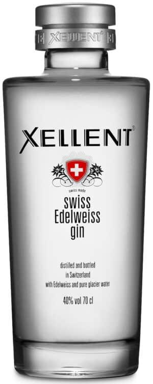 Gin Xellent Swiss Edelweiss 40% Vol. 70 cl