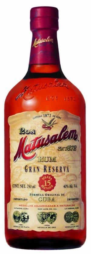 Matusalem Gran Reserva Solera 15 Blender 40% Vol. 70 cl