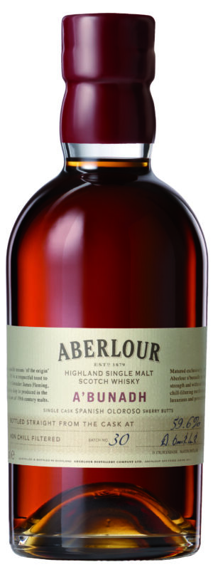 Whisky Aberlour a'bunadh Batch 57 Single Malt 61,1% Vol. 70 cl