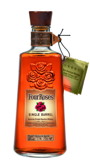 Whiskey Single Barrel Four Roses Kentucky Straight Bourbon 50% Vol. 70 cl