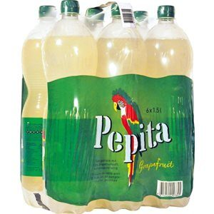 Pepita Grapefruit 6 x 150 cl PET