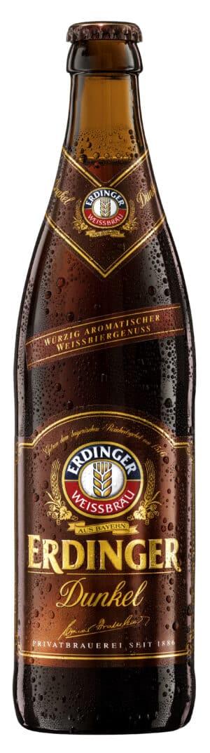 Erdinger Weissbier dunkel 5,3% Vol. 50 cl MW Flasche