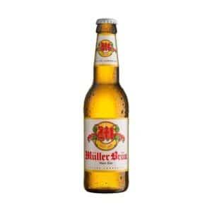 Müllerbräu Lagerbier  15 x 33 cl EW Flasche ( 10 + 5 gratis )