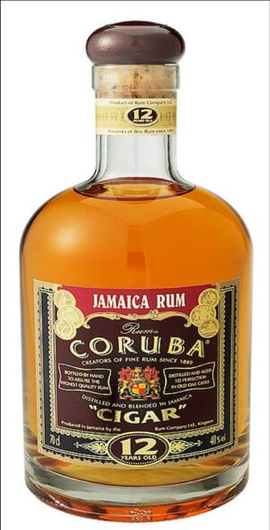 Rum Coruba Cigar 12 years 40% Vol. 70 cl Jamaica