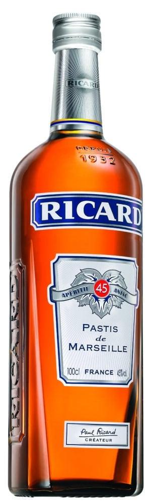 Ricard Pastis Aperitif Anisé 45% Vol. 70 cl
