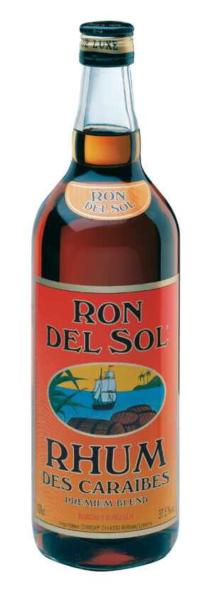 Rum Colonial Ron del Sol 37,5% Vol 100 cl