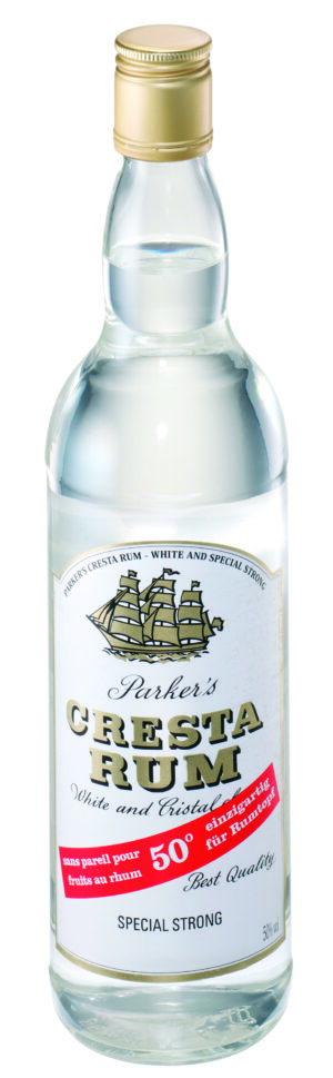 Rum Parkers Cresta white 50% Vol. 70  cl