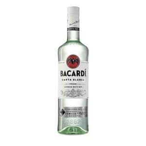 Rum Bacardi Carta Blanca 37% Vol. 70 cl Bahamas