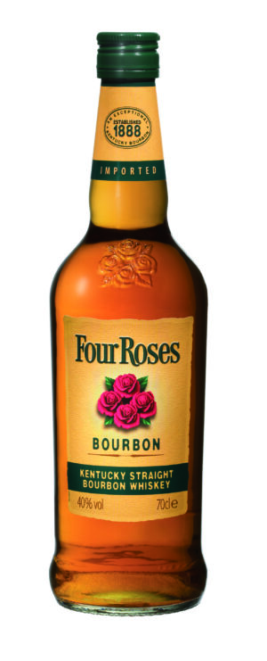Whiskey Four Roses Bourbon 40% Vol. 70 cl USA
