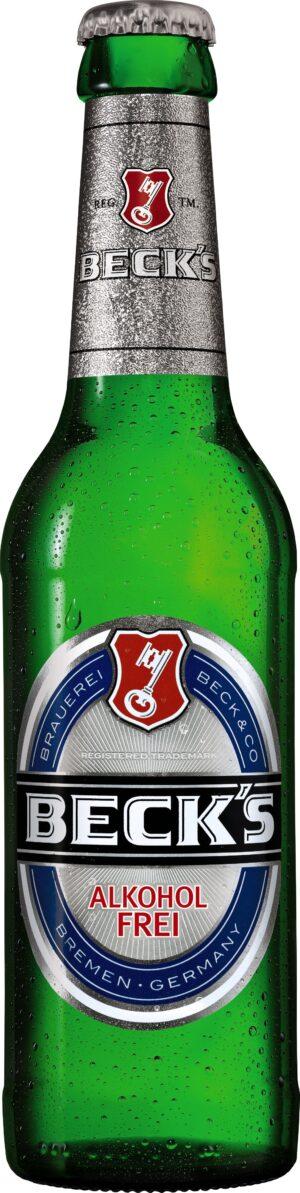 Beck's Blue Bier alkoholfrei 24 x 33 cl MW Flasche