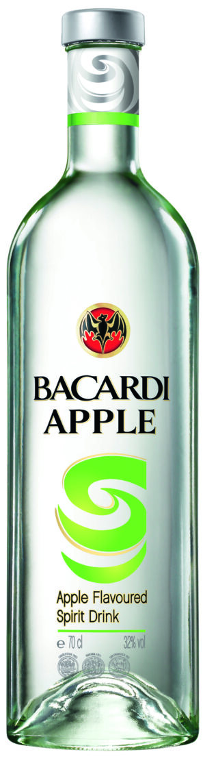 Rum Bacardi Apple 32% Vol. 70 cl Bahamas
