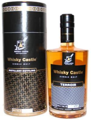 Terroir - Schweizer Whisky - Swiss Whisky Käsers-Schloss, Elfingen AG  40% Vol. 50 cl