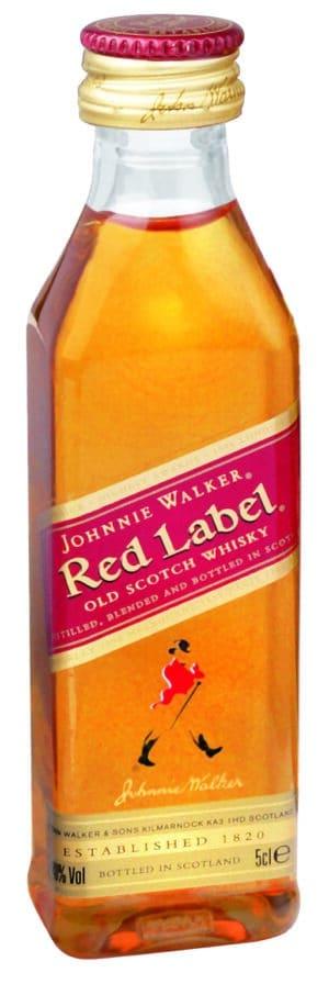 Johnnie Walker Red Label 40% Vol. 12 x 5 cl Portion