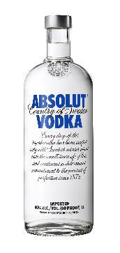 Absolut Vodka 40% Vol. 175 cl