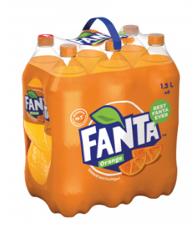 Fanta Orange 6 x 150 cl PET
