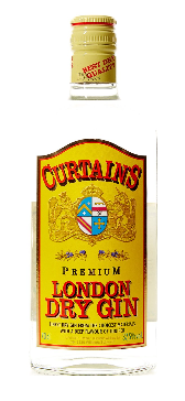 Gin Curtains London Dry 37,5% Vol. 70 cl