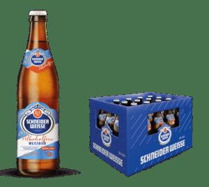 Schneider Weisse Alkoholfrei TAP 3 20 x 50 cl MW Flasche