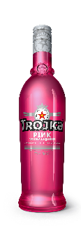 Trojka Vodka Pink Liqueur 17% Vol. 70 cl