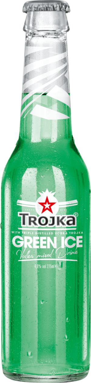 Trojka Green Ice 4,0% Vol. 24 x 27.5 cl EW Flasche