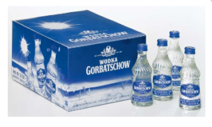 Vodka Gorbatschow 37% Vol. 20 x 4 cl Portionen