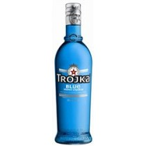 Trojka Vodka Blue Liqueur 20% Vol. 70 cl
