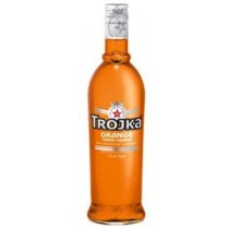 Trojka Vodka Orange Liqueur 17% Vol. 70 cl
