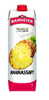 Ramseier Premium 100% Ananassaft Prisma 6 x 100 cl Tetra