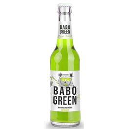 Babo green Bier 3,0% Vol. 24 x 33 cl EW Flasche